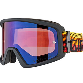 Giro Blok Gafas MTB, orange/black heatwave-vivid trail/clear